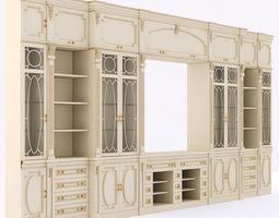 3D classical TV Furniture Wall