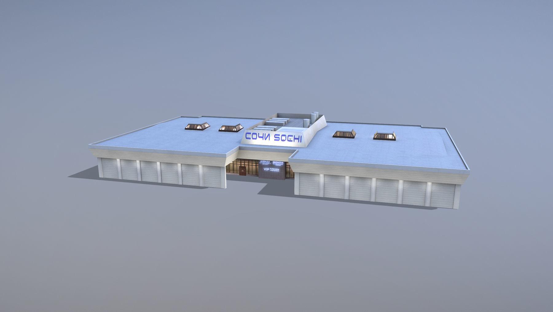 Airport Terminal URSS Terminal New VIP
