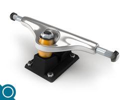 Skateboard Truck standard 3D Model