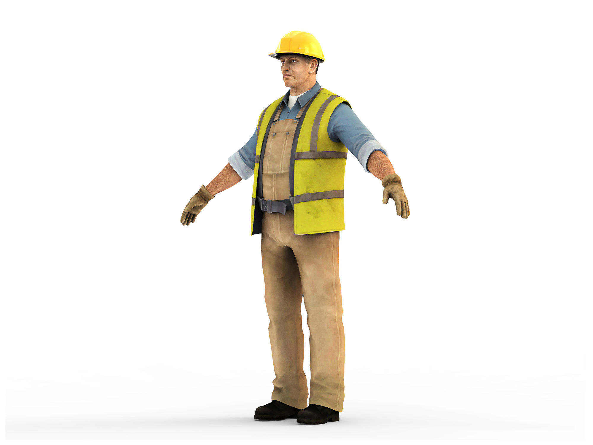 Worker CATRig Pose A