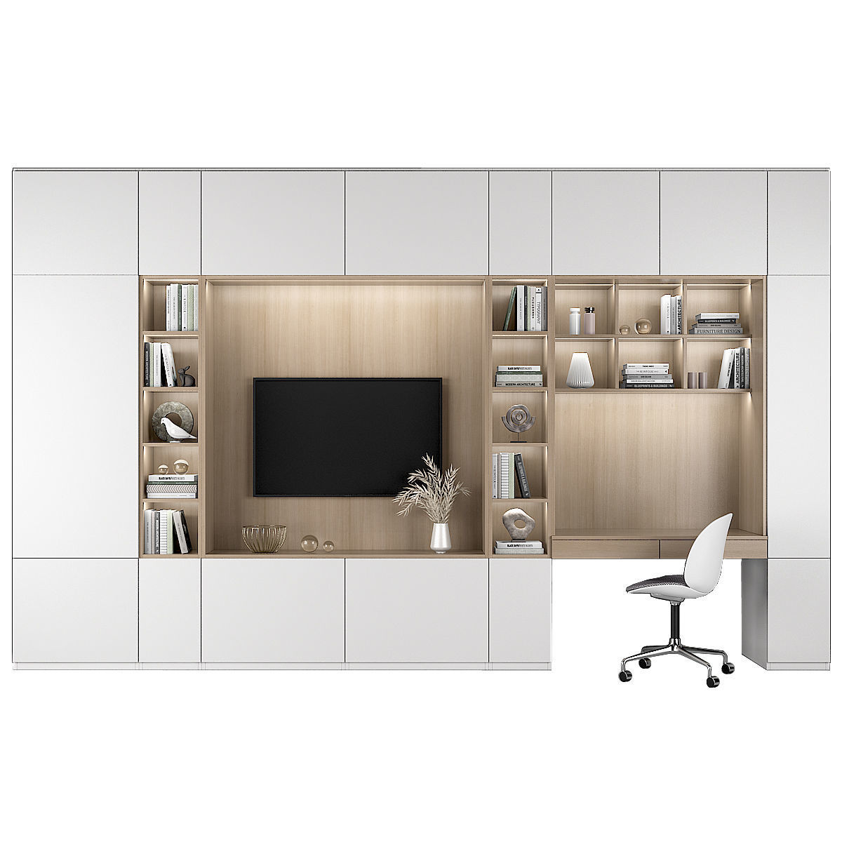 TV Shelf and workplace 72