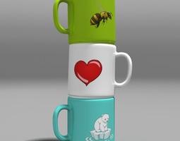 Cups 01 3D Model