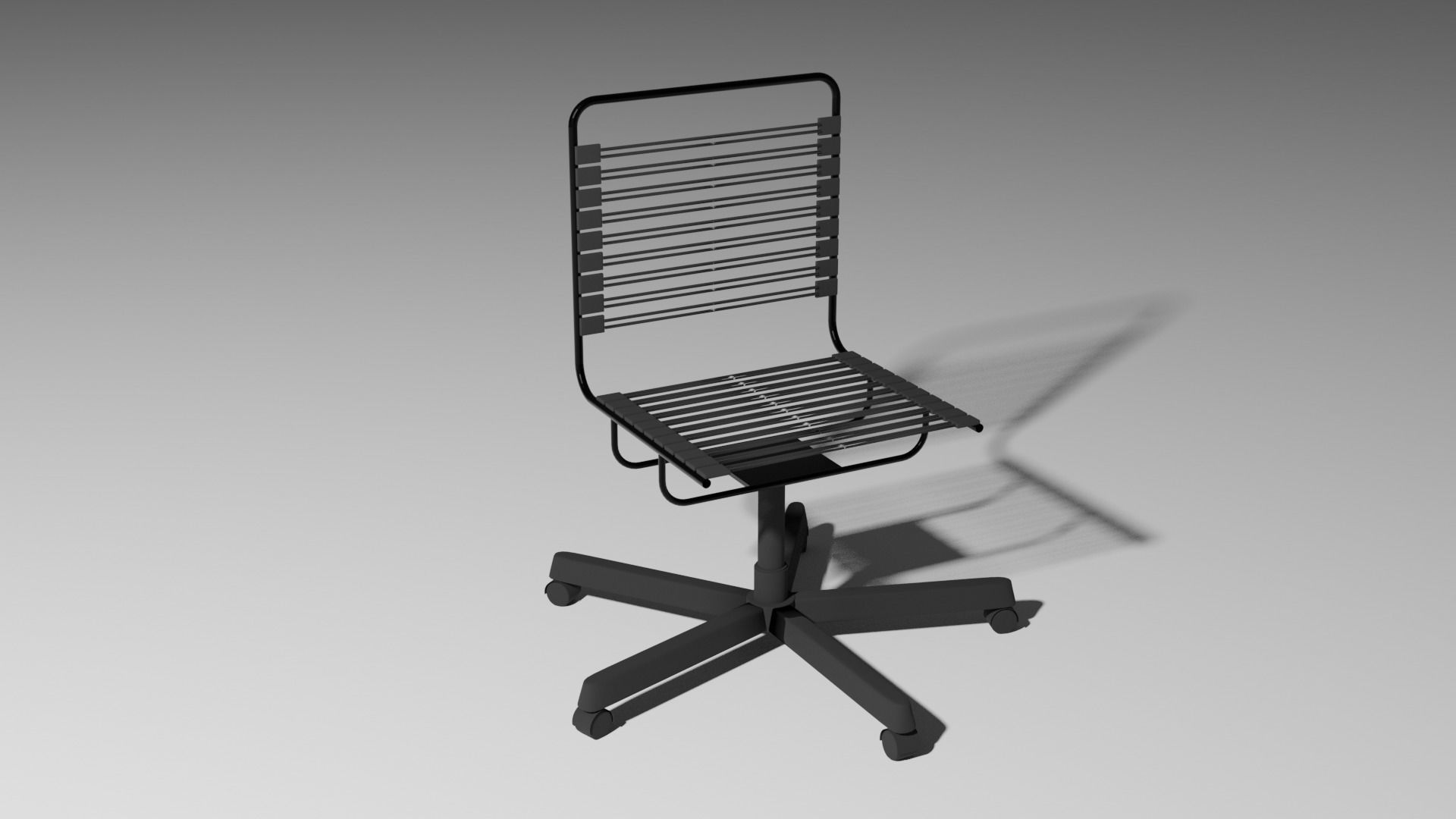 Bungee Cord Desk Chair 3d Model