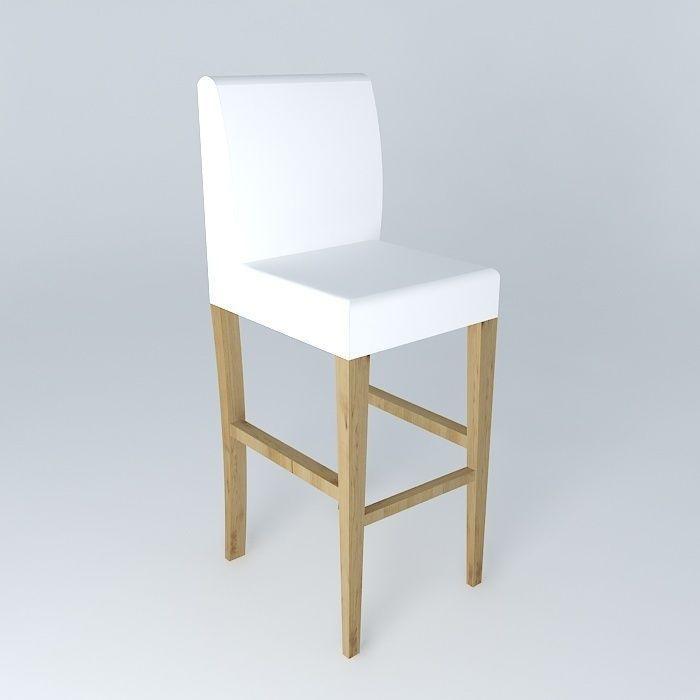 high chair boston 3d model max obj 3ds fbx stl dae. Black Bedroom Furniture Sets. Home Design Ideas