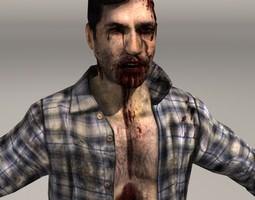 zombie man 01 3D Model