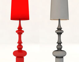cosmo KING floor lamp 3D