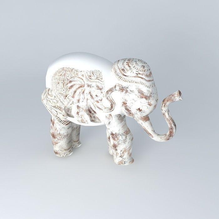 deco elephant columbo 3d model max obj 3ds fbx stl dae. Black Bedroom Furniture Sets. Home Design Ideas
