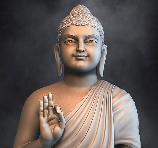 Buddha  for 3d printing 3D print model