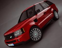 Range Rover 2006 3D Model