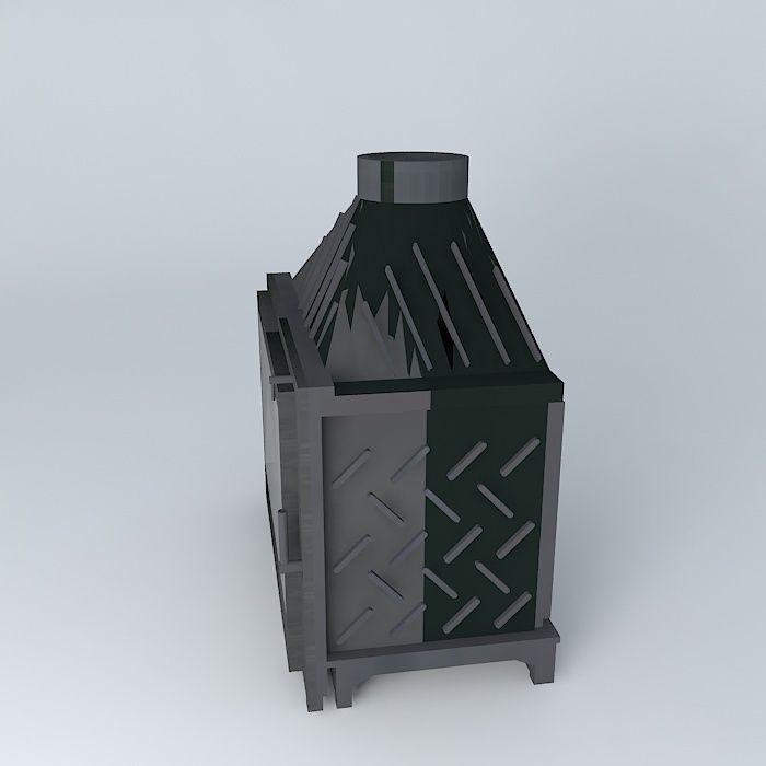 Fireplace seguin 3d model max obj 3ds fbx stl dae for Porte 3ds max