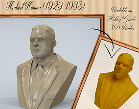 Herbert Hoover 3D print model