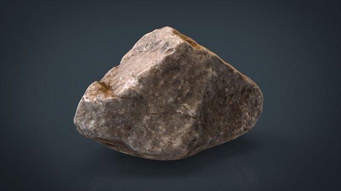 real stone 9 3d model obj mtl 1