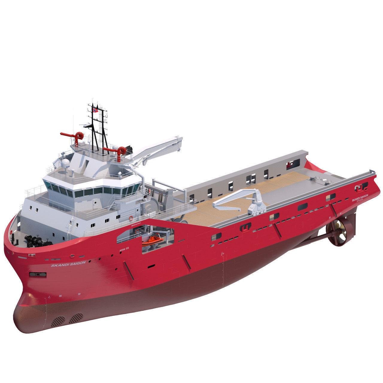 75 m AHTS Supply Vessel Skandi Saigon