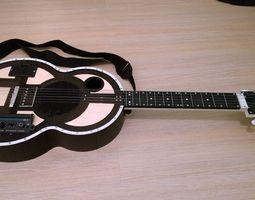 guitar 3d printable model