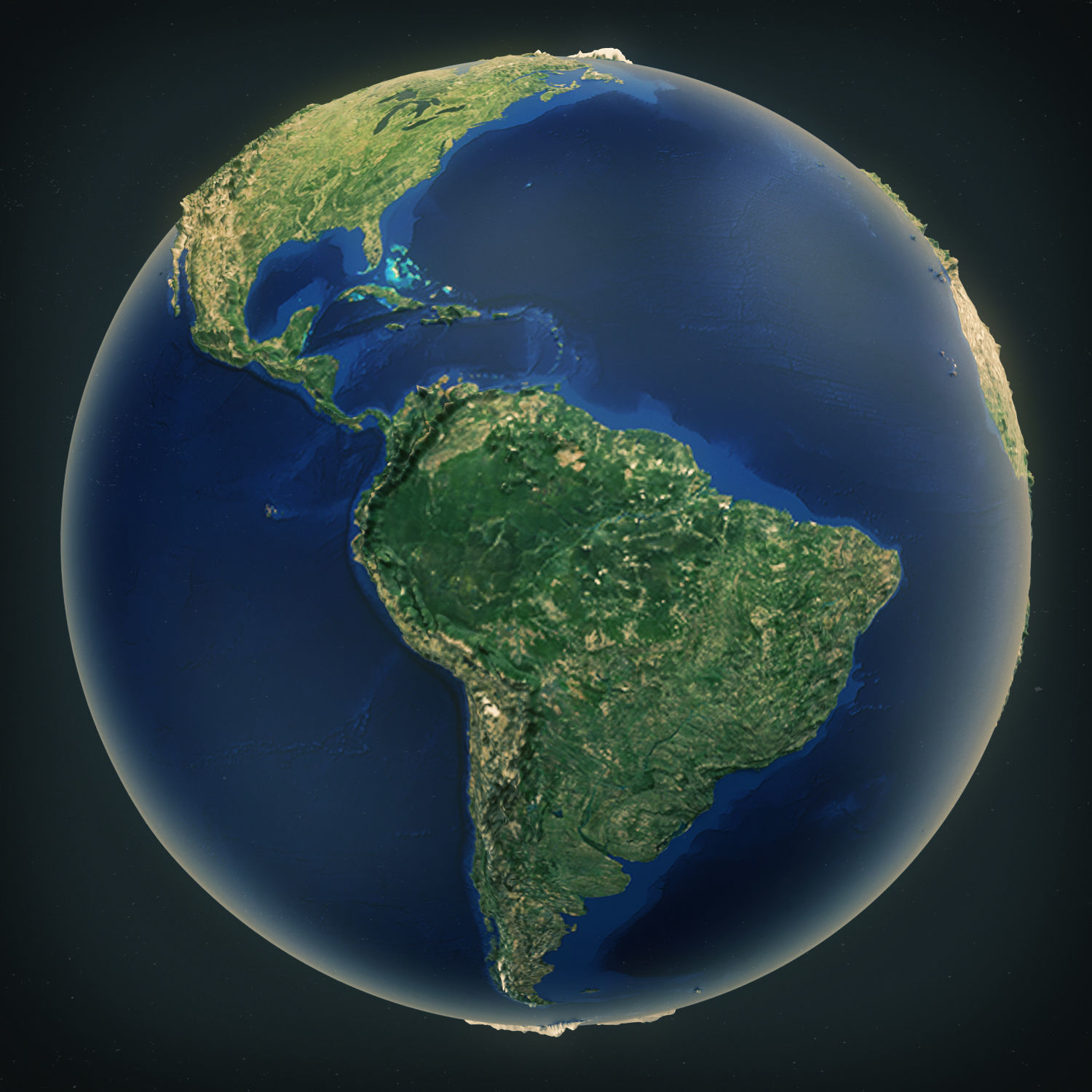 Earth High Poly