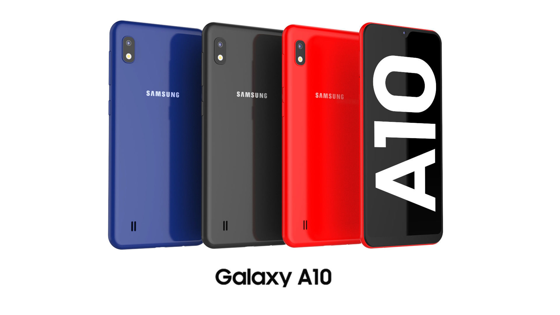 3d Samsung Galaxy A10 Collection Cgtrader