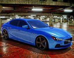Maserati Ghibli 3D Model