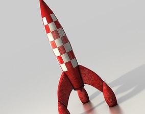 3D print model Toy rocket