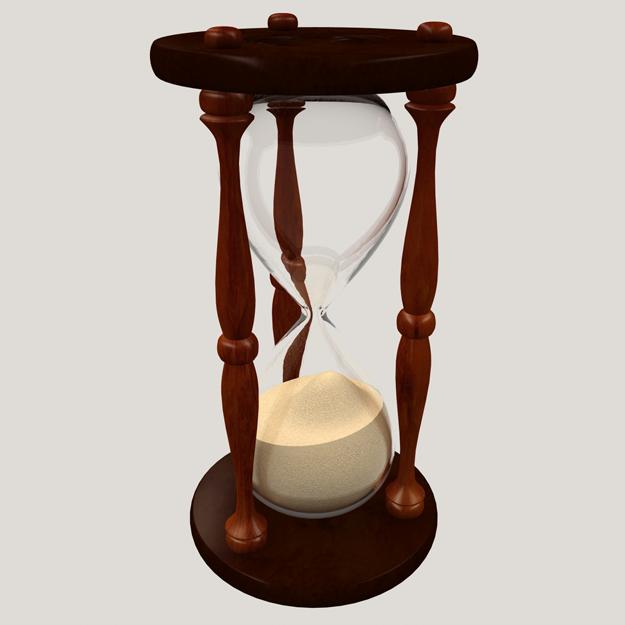 Hourglass 3D Model .max .obj - CGTrader.com