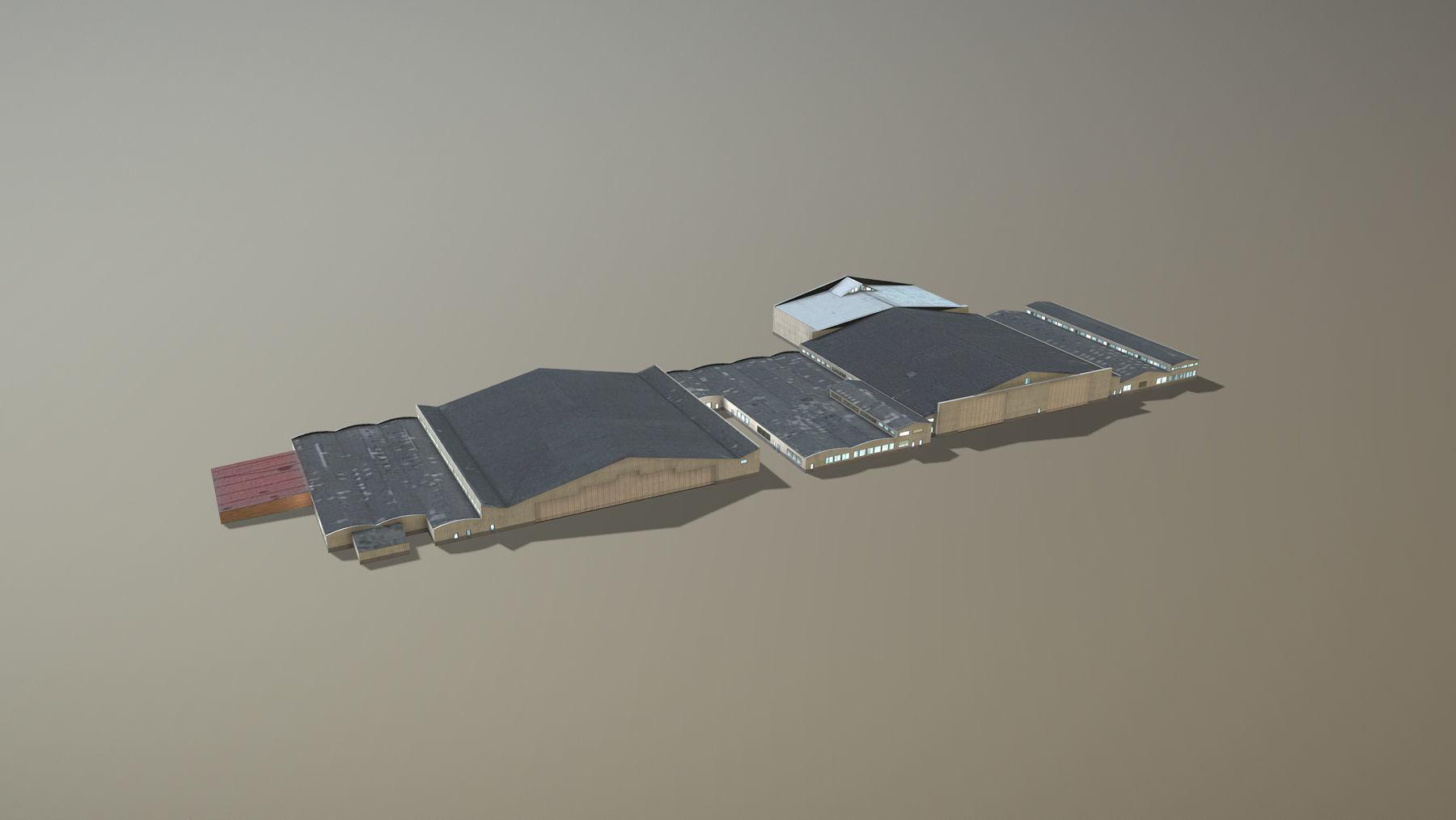 Airport Hangars SKBO Hangars10