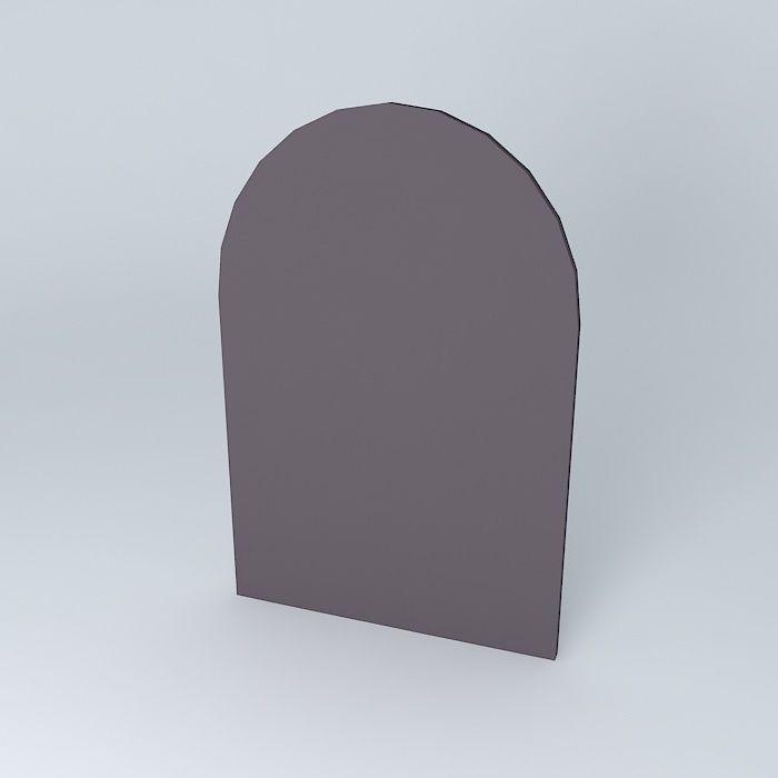 Cheverny mirror 3d model max obj 3ds fbx stl dae for Mirror 3d model