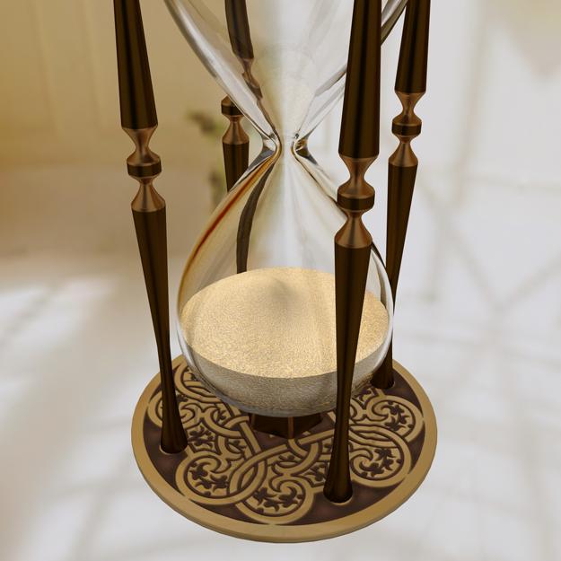 Hourglass 3D Model .max .obj- CGTrader.com
