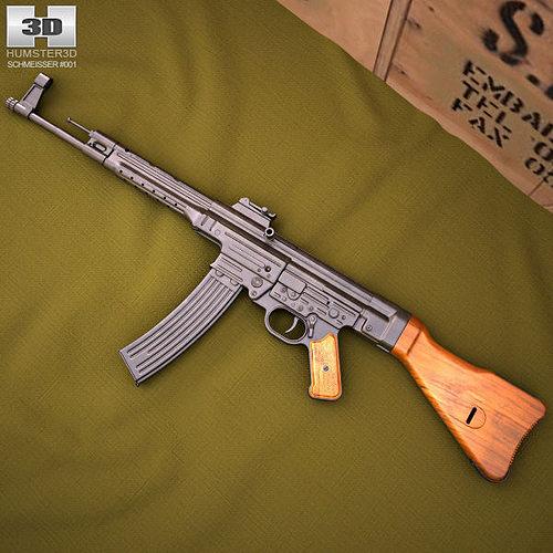 3d Gun Image 3d Home Architect: StG 44 3D
