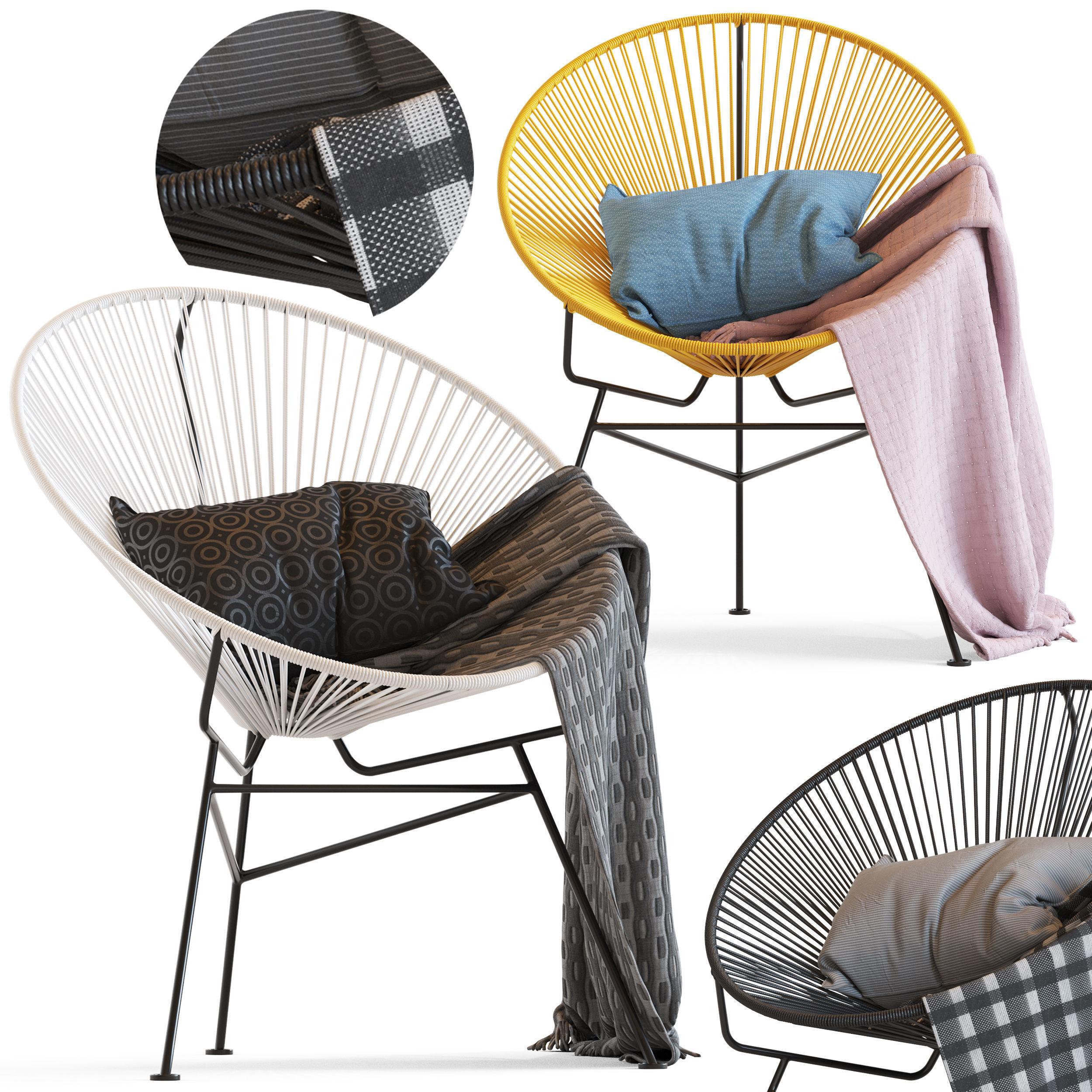 Cult Furniture Armando Chair and Acapulco chair