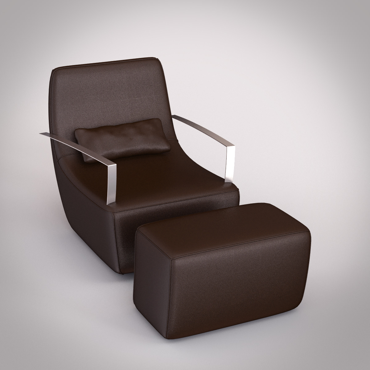 ligne roset poltrone neo armchair 3D Models - CGTrader.com
