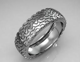 ring tire 2 3d print model