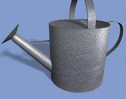 3D model game-ready Watering Can