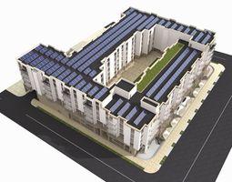 housing complex 3d model