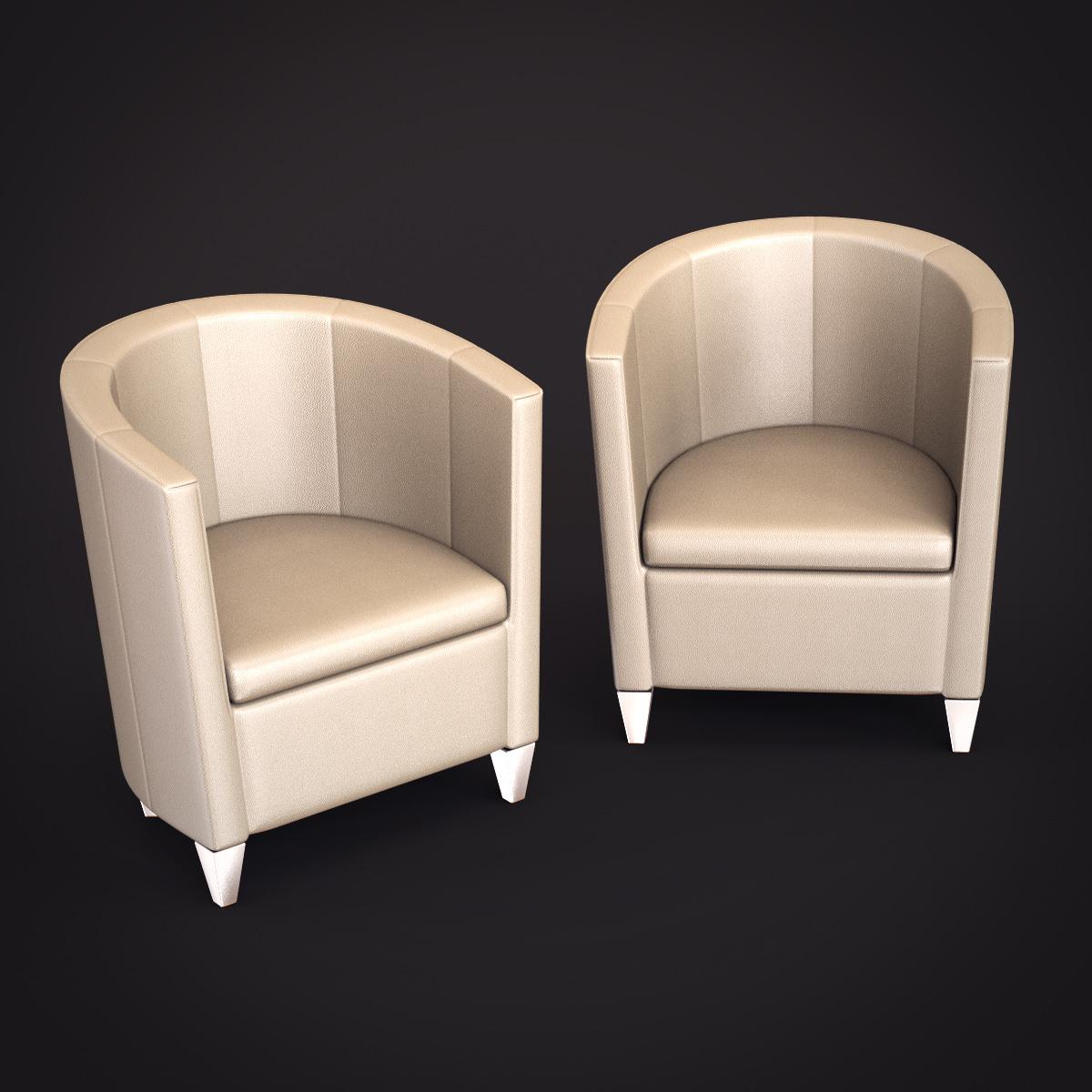 Topdeq john bronco armchair 3d models for Topdeq design