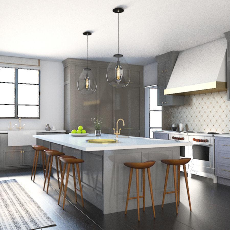 Kitchen Design 3d Model Game Ready Cgtrader