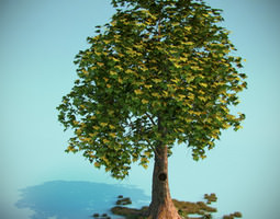 Fairy Tale Tree 3D Model