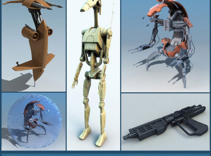 Star wars collection3D model