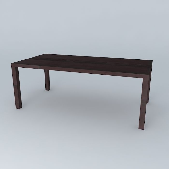 Coffee Table Java 3d Model Max Obj 3ds Fbx Stl Skp