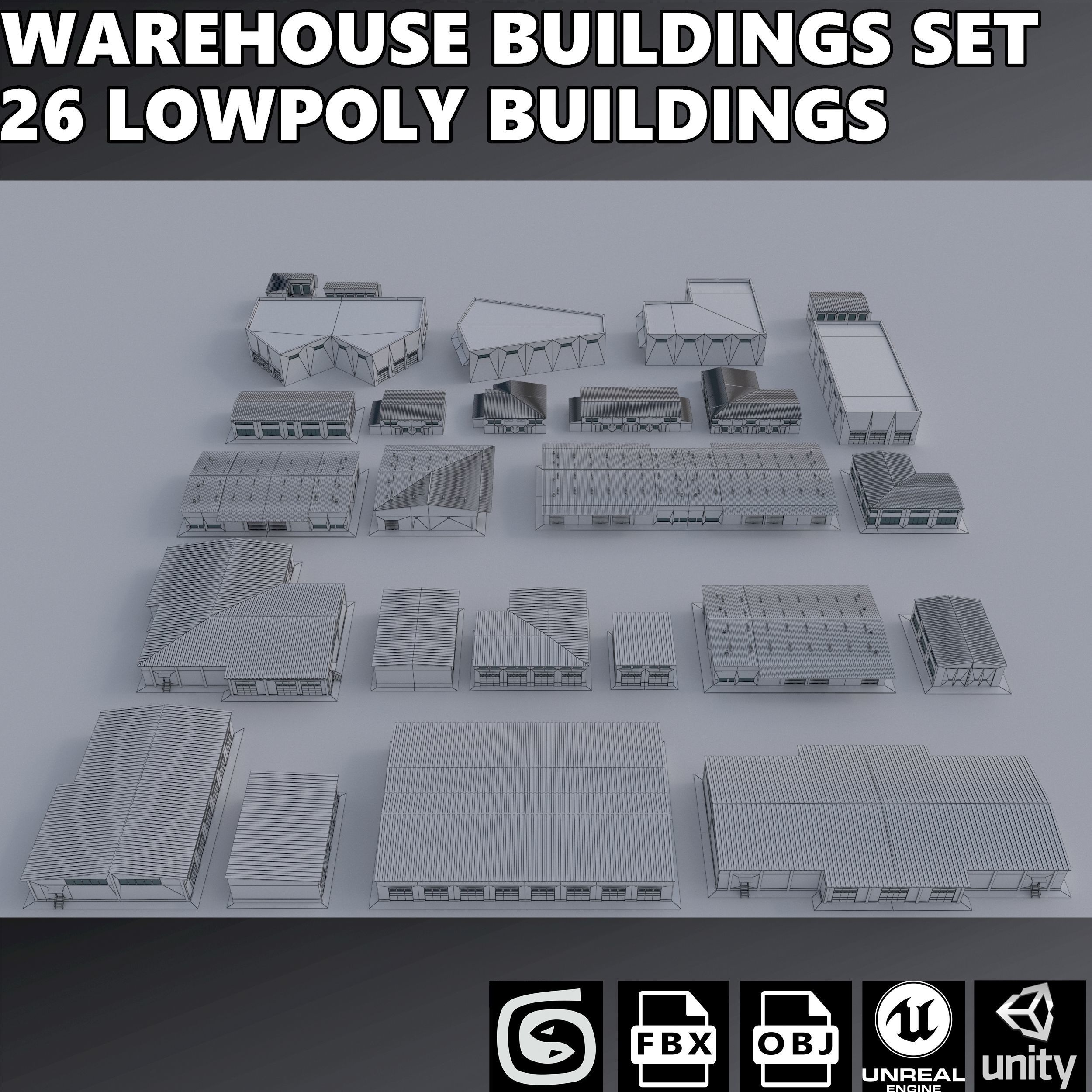 Warehouses Buildings Collection