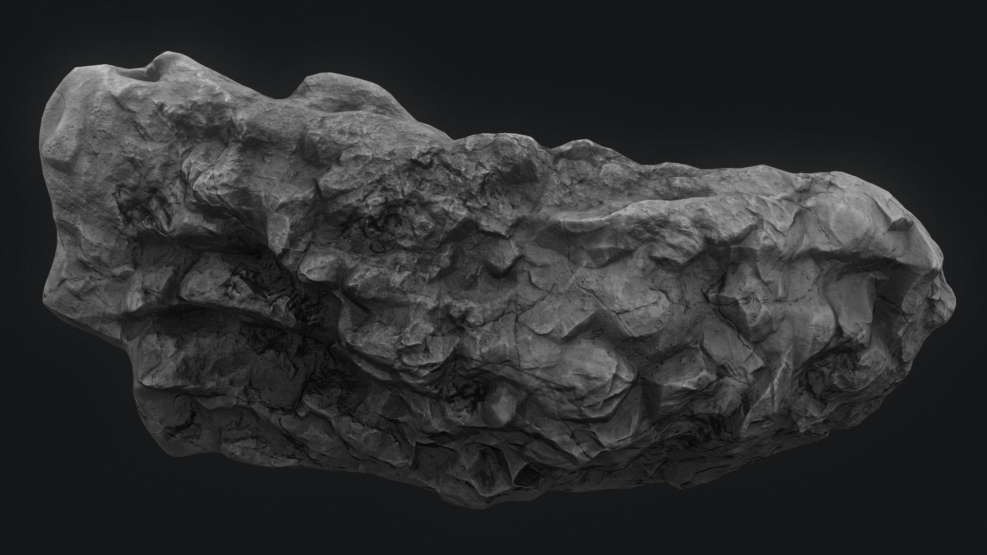 Meteor Asteroid Rock 4K