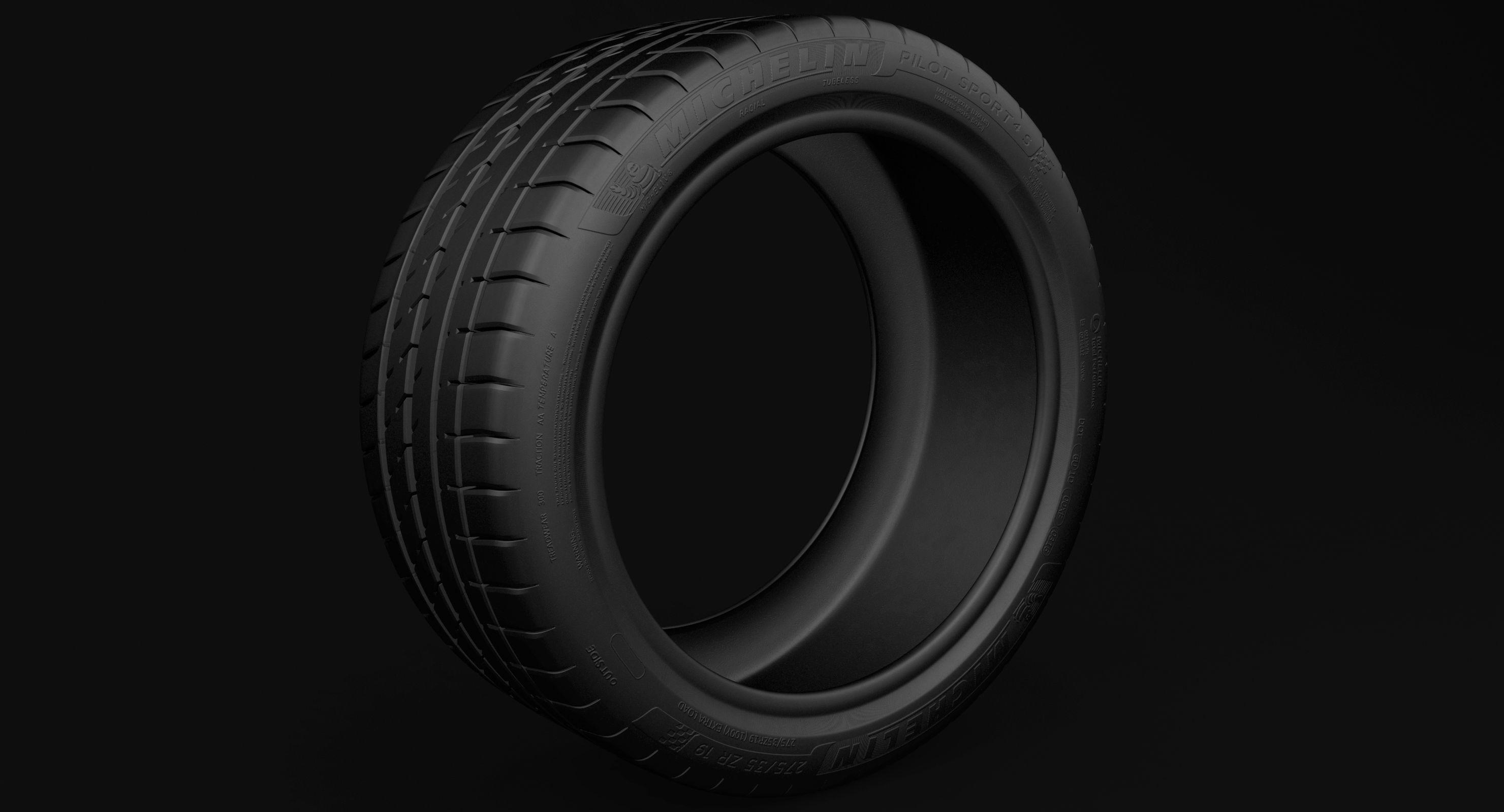 Tire - Michelin Pilot Sport 4 s