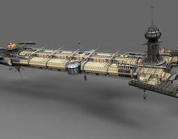 Cygnus 3D Model