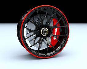 Sport Racing Rim 3D model