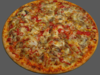 Pizza vegetable 3D Model