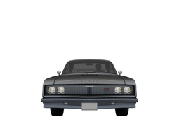 DODGE CHARGER R T Upgraded 3D asset