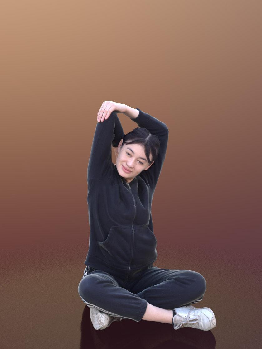 Francine 10335 - Stretching Sport Girl