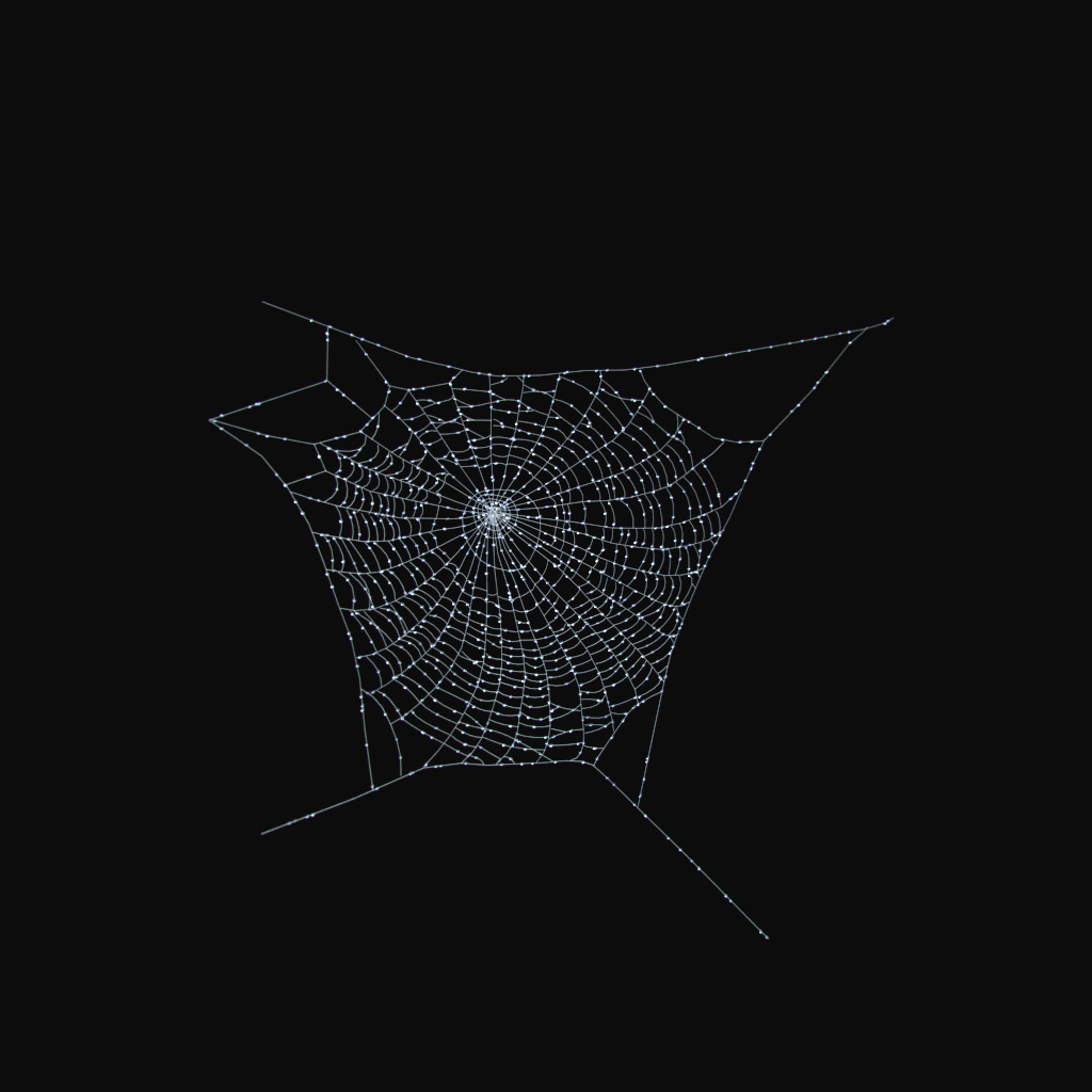 spider web 3d model max obj fbx