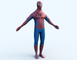 Spiderman 3D Model