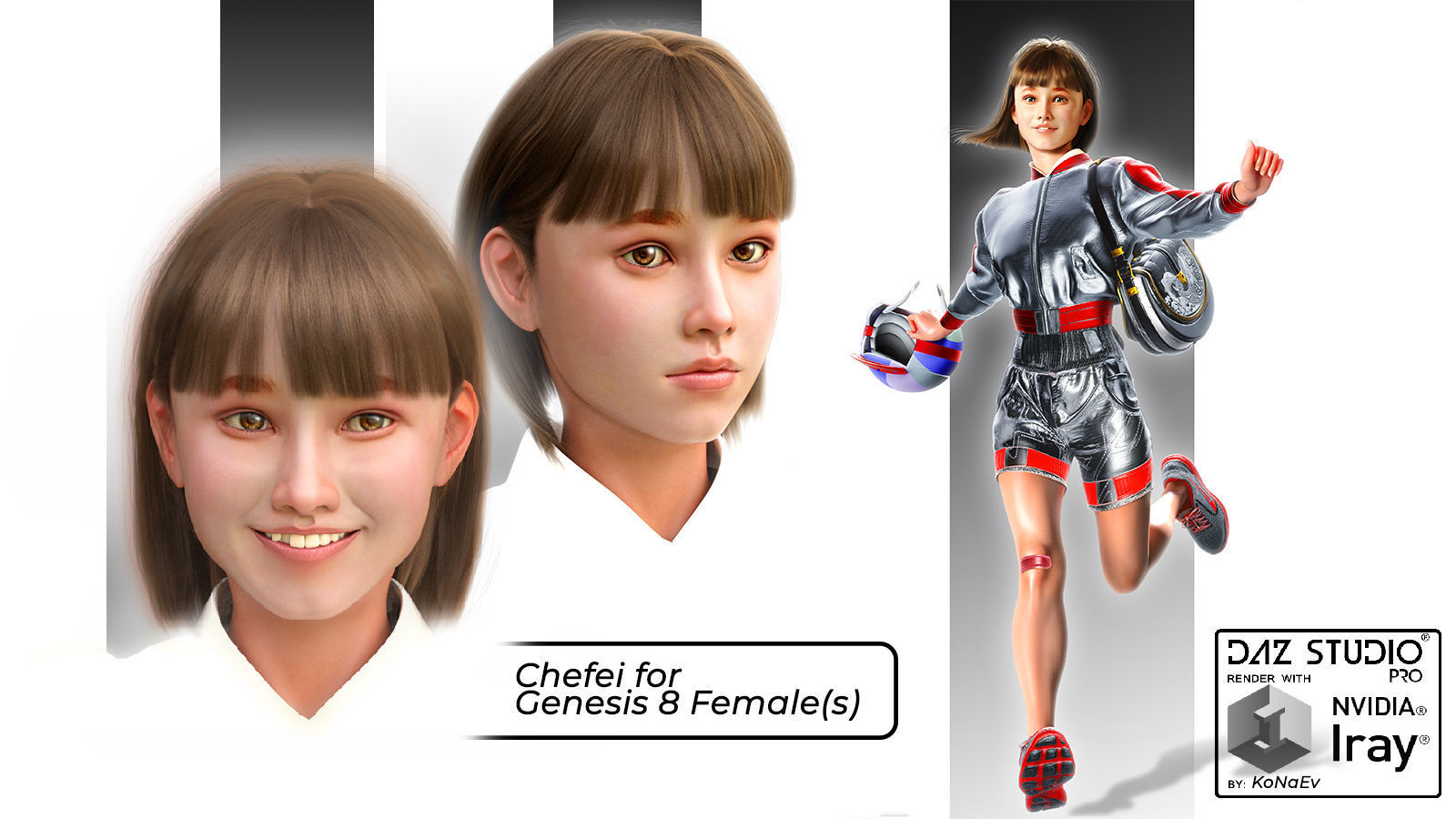 Chefei for Genesis 8 Females