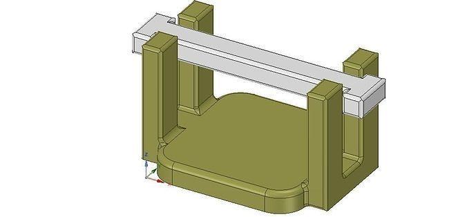 kitchen table napkin holder for outside garden real 3D printing