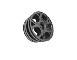 3d print model rc car drift wheel alfistiuno   width 24mm   offset 0mm